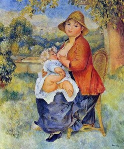 Mother Nursing August Renoir 1886